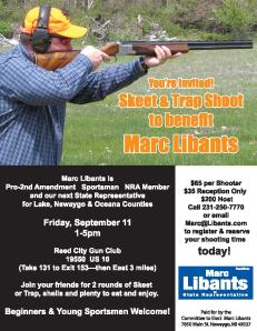 Marc Libants for Rep Shoot Flier